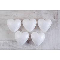 Набор пенопластовых фигурок SANTI ''Сердце'', 5шт/уп., 85mm