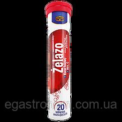 Вітаміни Крюгер Залізо Krüger Zelazo 84g 28шт/ящ (Код : 00-00003540)
