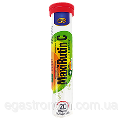 Вітаміни Крюгер МаксіРутін Krüger MaxiRutinC 84g 16шт/ящ (Код : 00-00003559)