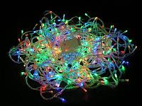Новогоднее украшение помещений, деревьев: гирлянда-нить мульти, 300 цветных LED-ламп