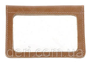 Надійна обкладинка для прав з натуральної шкіри SHVIGEL 16081, Коричневий, фото 2