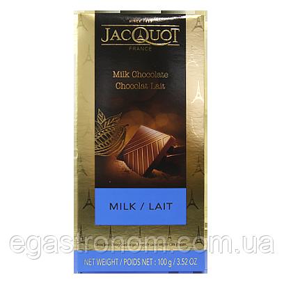 Шоколад Джакот молочний Jacquot milk 100g 17шт/ящ (Код : 00-00005540)