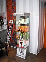 Стойки для рекламы из стекла под заказ. Купить. Киев
