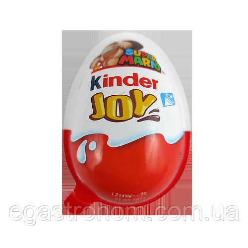 Кіндер Шоколад Джой Маріо Kinder Joy Mario 20g 72 шт/ящ (Код : 00-00004922)