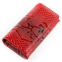 Кошелек женский KARYA 17000 кожаный Красный, фото 1