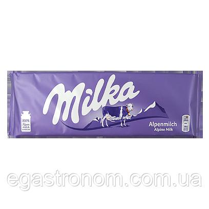 Шоколад Мілка альпійське молоко Milka alpine milk 270g (Код : 00-00005098)