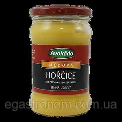 Гірчиця Авокадо медова Avokado medova 310g 6 шт/ящ (Код : 00-00005612)