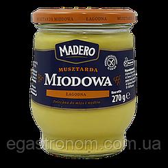 Гірчиця Мадеро Медова Madero Poziomkowa 270g (Код : 00-00005428)