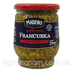 Гірчиця Мадеро Французька Madero Francuska 270g (Код : 00-00005429)