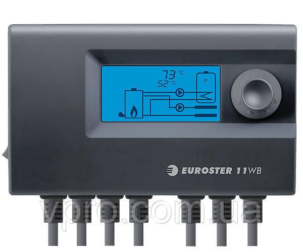 Автоматика для котла Euroster 11WB (1 вентилятором і 2 насосами)