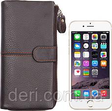 Функціональний гаманець з відділенням під телефон, фото 2