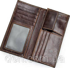 Мужской бумажник из натуральной кожи, фото 3