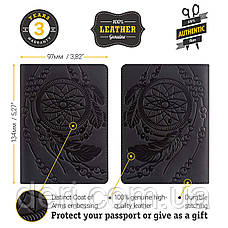 Обложка на паспорт SHVIGEL 13837 Черный, Черный, фото 3