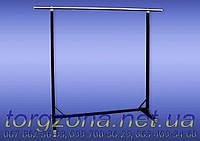 Cтійка L1.5 H1.3 (хромована труба з стінкою 0,7мм)