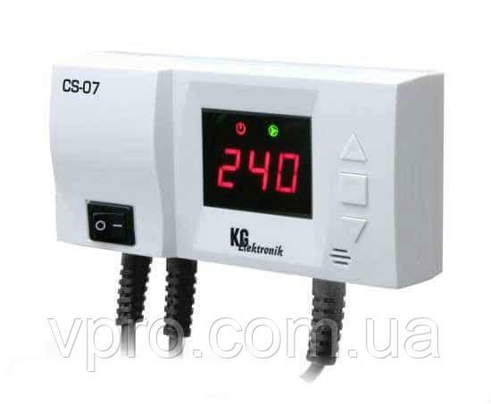 KG Elektronik CS-07 автоматика для насосів центрального опалення