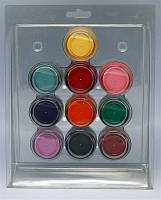 Набор цветных акрилов в блистере 10шт ACN-01 YRE