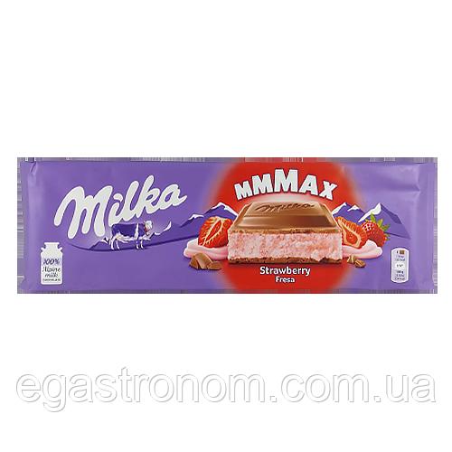 Шоколад Мілка полуниця Milka mmMax strawberry 300g 13шт/ящ (Код : 00-00003578)