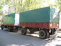 Тент, каркас на КАМАЗ с прицепом