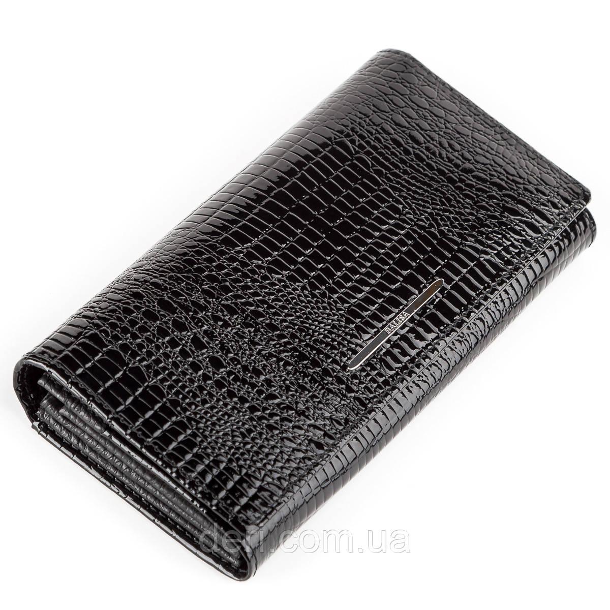 Гаманець жіночий BALISA 13851 шкіряний Чорний, Чорний