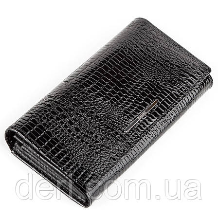Гаманець жіночий BALISA 13851 шкіряний Чорний, Чорний, фото 2