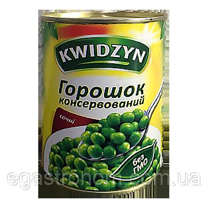 Горох консервований KWIDZYN 400/240g 10шт/ящ (Код : 00-00002980)