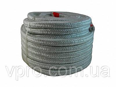 Термошнур керамический плетеный для котла (10мм)  армированный