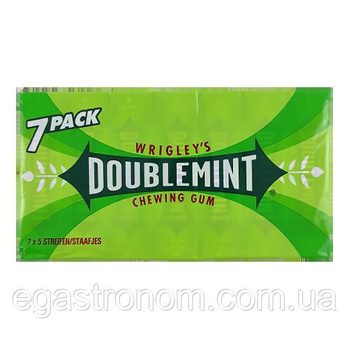 Жувальна гумка Врігліс Wrigley's Doublemint Зелена Пачка 7х5 14шт/ящ (Код : 00-00004340)