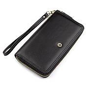 Женский кошелек вместительный черный