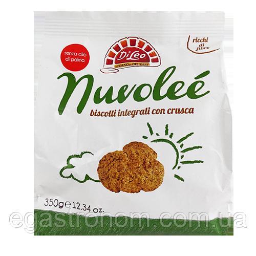 Печиво Ділео Nuvolee con crusca 350g 8шт/ящ (Код : 00-00004706)