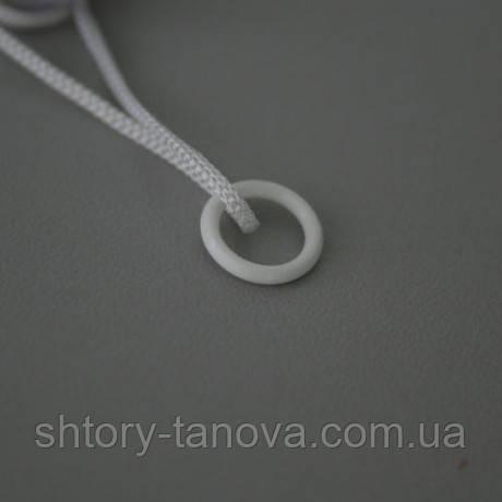 Кольцо для римских штор 0.7см белый