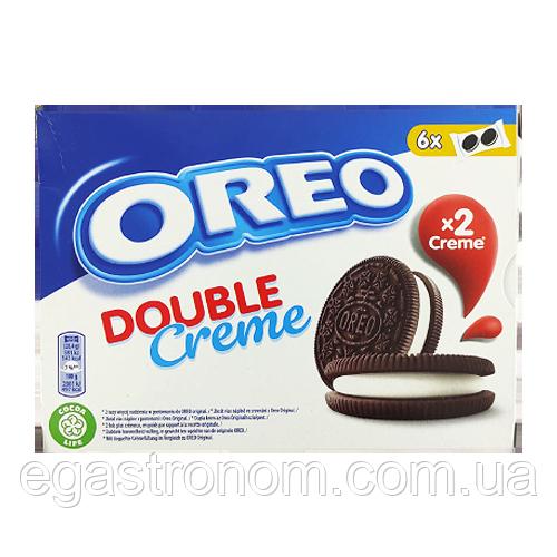 Печиво Орео Oreo double creme 170g 10шт/ящ (Код : 00-00003135)