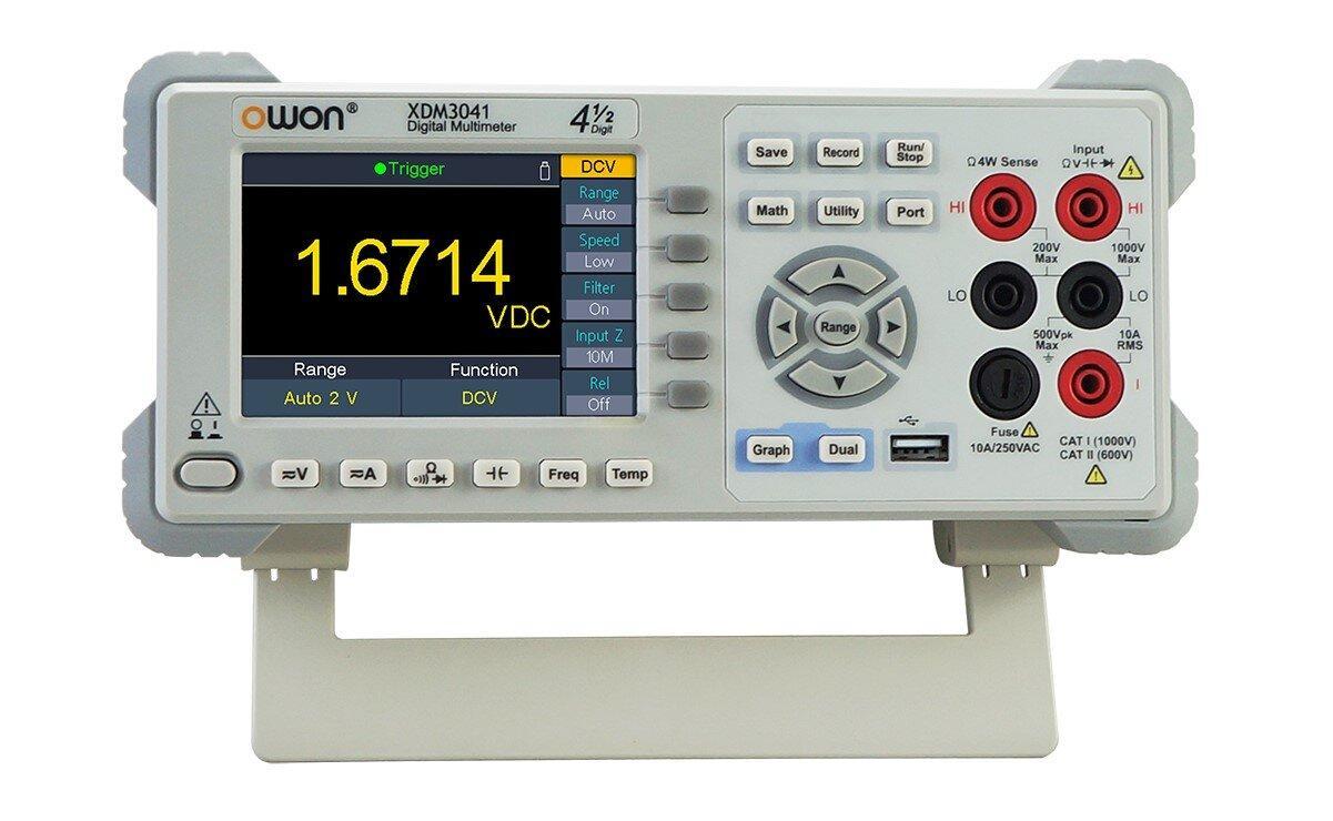Лабораторний прецизійний мультиметр OWON XDM3041
