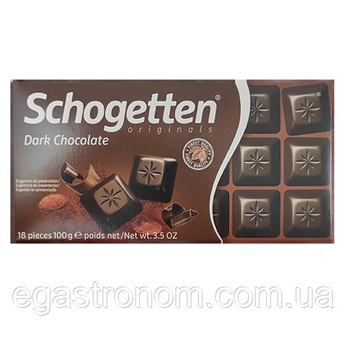 Шоколад Шогеттен 4833 Schogetten dark chocolate 100g 15шт/ящ (Код : 00-00003813)