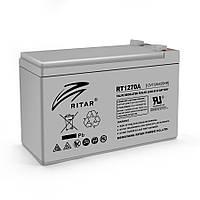 Акумуляторна батарея AGM RITAR RT1270A, Gray Case, 12V 7.0Ah  ( 151 х 65 х 94 (100) ) Q10