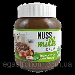 Шоколадна паста Нусс Мілк горіхова Nuss Milk 400g 12шт/ящ (Код : 00-00004227)
