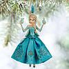 """Ёлочные игрушки Дисней Disney Store Frozen, королева Эльза """"Холодное сердце"""""""