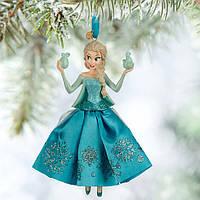 """Ёлочные игрушки Дисней Disney Store Frozen, королева Эльза """"Холодное сердце"""" , фото 1"""