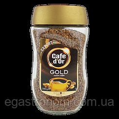 Кава Кофедор голд експорт (розчина) Cafe d'Or gold export 200g 9шт/ящ (Код : 00-00000320)
