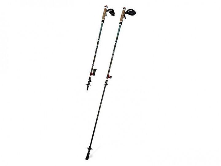 Трекинговые палки CRIVIT Pro ® FX-Carbon Black для нордической ходьбы Германия