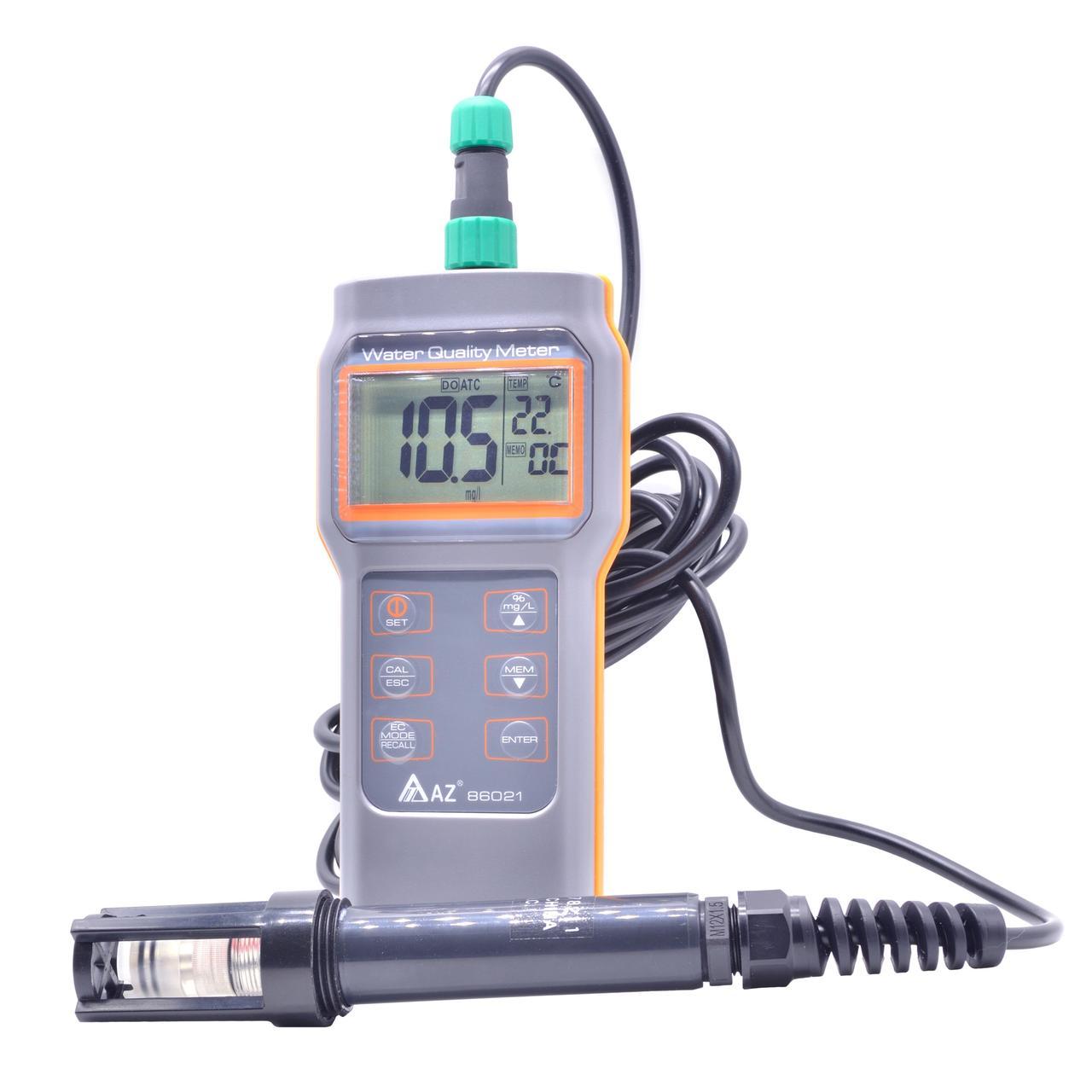 Оксиметром AZ-86021 (DO)