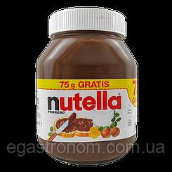 Шоколадна паста Нутелла Nutella 825g 12шт/ящ (Код : 00-00003424)