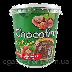 Шоколадна паста Чокофіні лісовий горіх Chocofini 400g 12шт/ящ (Код : 00-00004024)