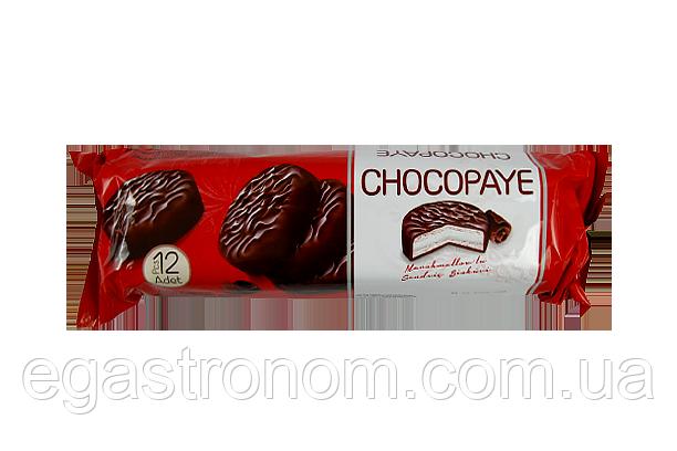 Печиво Чокопай з маршмелоу в глазурі Chocopaye 216g 12шт/ящ (Код : 00-00005230)