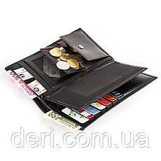 Портмоне мужское KARYA 17016 Черное, Черный, фото 3