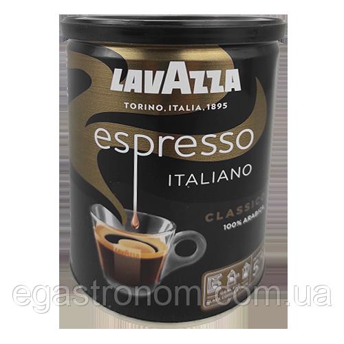 Кава Лавацца еспрессо ж/б Lavazza espresso 250g 12шт/ящ (Код : 00-00000297)