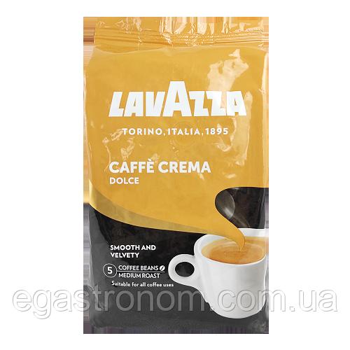 Кава Лавацца кафе крема дольче (зерно) Lavazza caffe crema dolce 1kg 6шт/ящ (Код : 00-00000280)