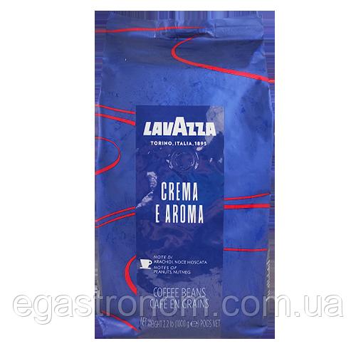 Кава Лавацца крему арома (синя) Lavazza crema E aroma 1kg (Код : 00-00002960)