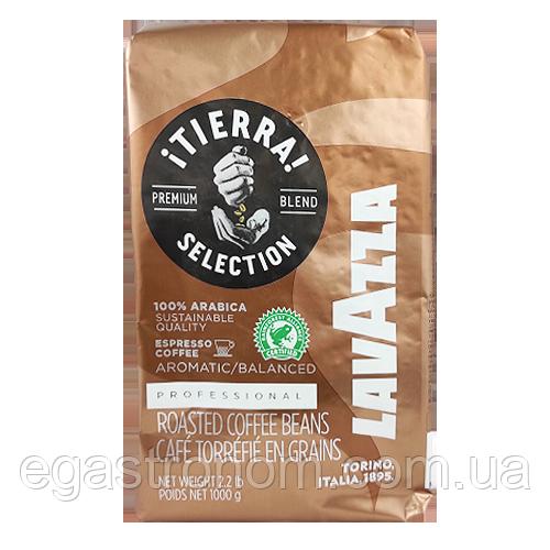 Кава Лавацца тієрра (зерно) Lavazza tierra 1kg 6шт/ящ (Код : 00-00000294)