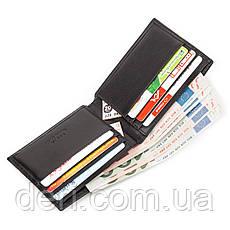 Стильный бумажник горизонтальный мужской, фото 3