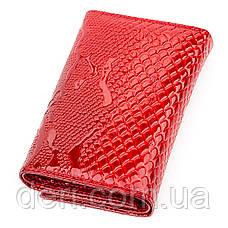 Гаманець жіночий KARYA шкіряний червоний, фото 2